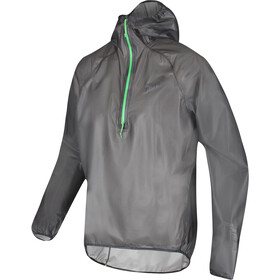 inov-8 Veste Ultrashell demi-zip Homme, black/green